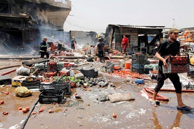 Explosión de coche bomba en Bagdad deja al menos 10 muertos