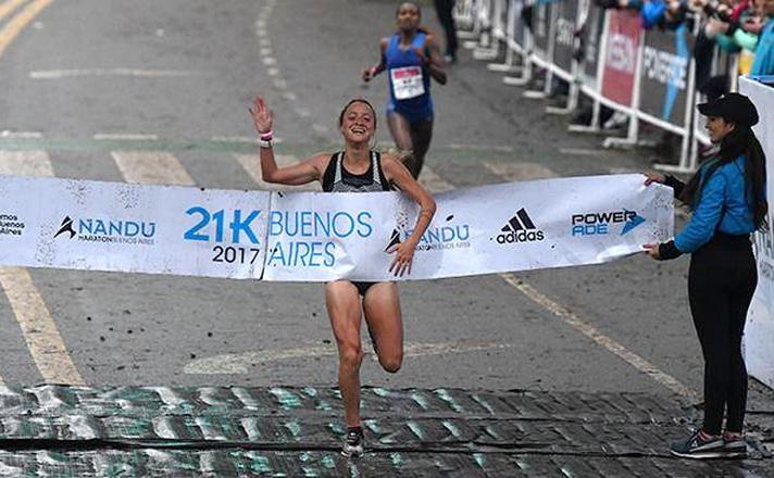 Borelli ganó la media maratón