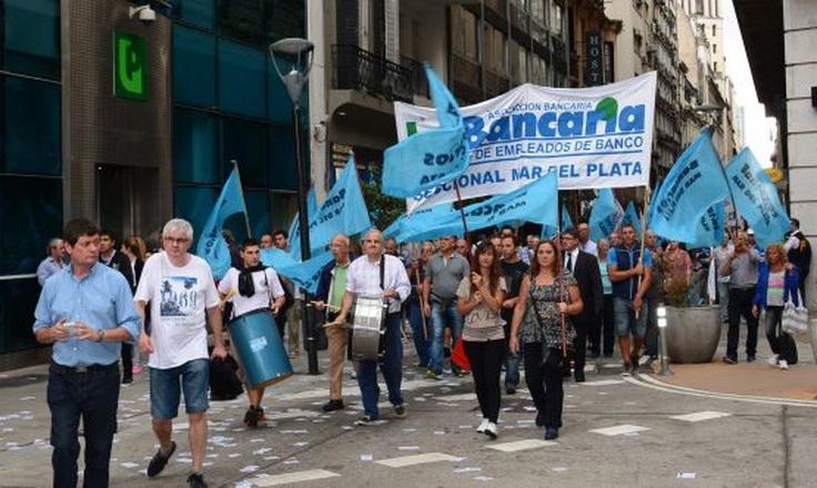 Paran hoy los empleados del Banco Provincia — Reforma previsional