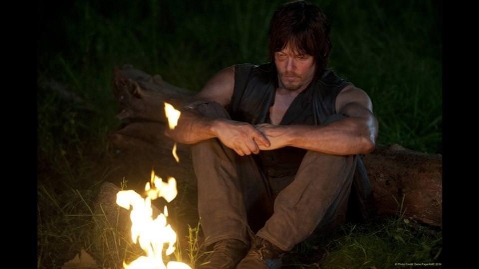 The Walking Dead 4x10 Inmates - Daryl