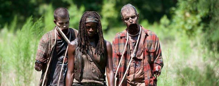 Entrevista a Danai Gurira - Michonne y sus dos zombies