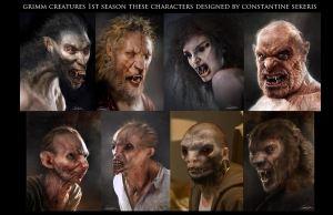 Análisis tercera temporada de Grimm - Criaturas