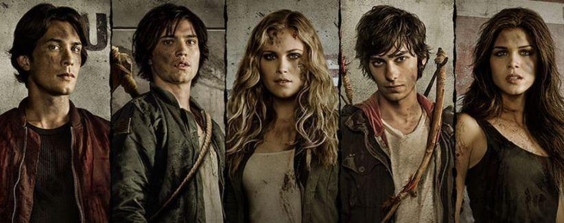 The 100 1x05 Twilight's Last Gleaming - Todo el reparto
