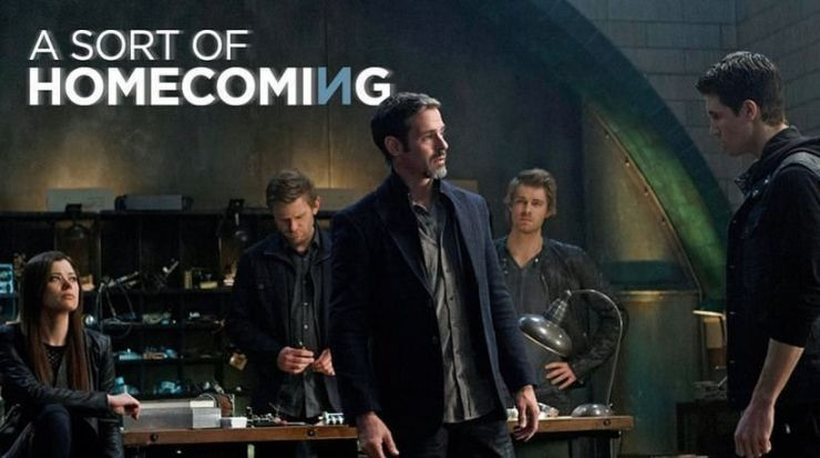 The Tomorrow People 1x20 A Sort Of Homecoming - Roger y Stephen
