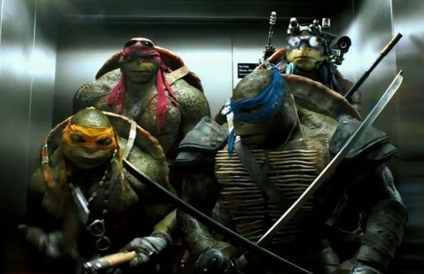 Las 10 PEORES películas del 2014 - Teenage Mutant Ninja Turtles
