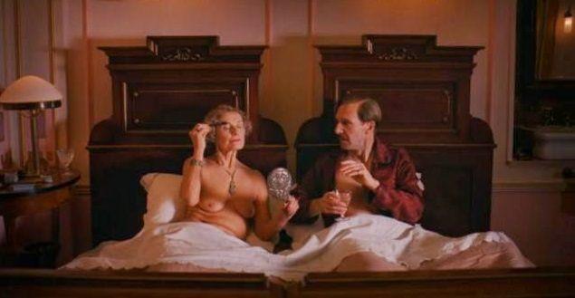 Amor madurito en The Grand Budapest Hotel