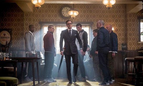 Las 10 MEJORES películas del 2015 - Kingsman The Secret Service