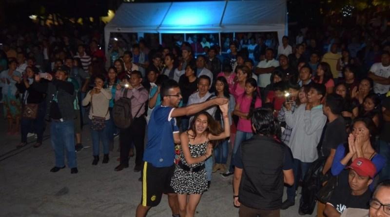 Hasta se armó el baile.