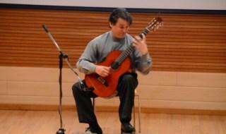 Recital de guitarra da apertura al primer Taller Internacional Cibao 2014