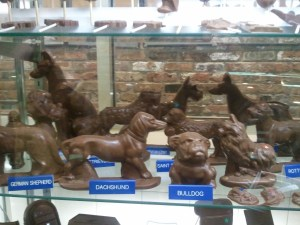 Fudge Pot chocolate dogs