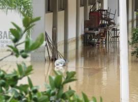 Sin riesgo de inundación escuelas de Gómez Farías
