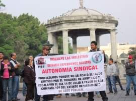 ¡Feliz aniversario Zapotlán! El regalo, otra protesta contra el gobierno