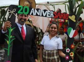 COBAEJ Gómez Farías festeja 20 aniversario