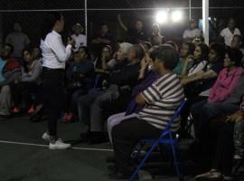 Pepe Guerrero presentó sus propuestas en El Nogal