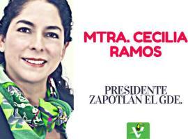 Candidata a la alcaldía de Zapotlán por el verde presenta proyecto