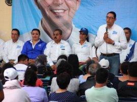 Noé Ramos llevará proyectos a consulta para que la gente decida las prioridades