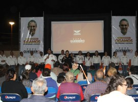 Pepe Guerrero promete dar continuidad a proyectos