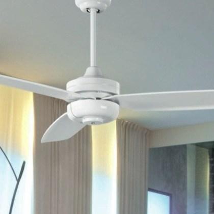 03950989BL Ventilador de techo blanco ( d.124x h37cms )
