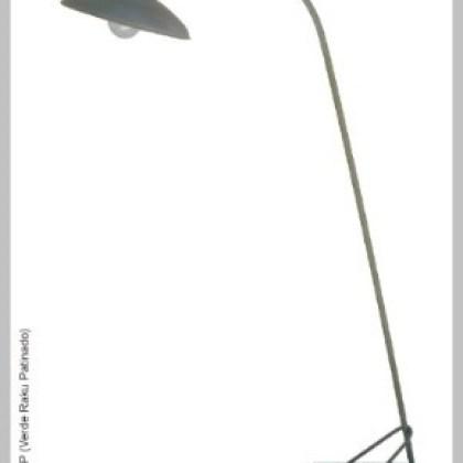 028 Lámpara Taller industrial de pie