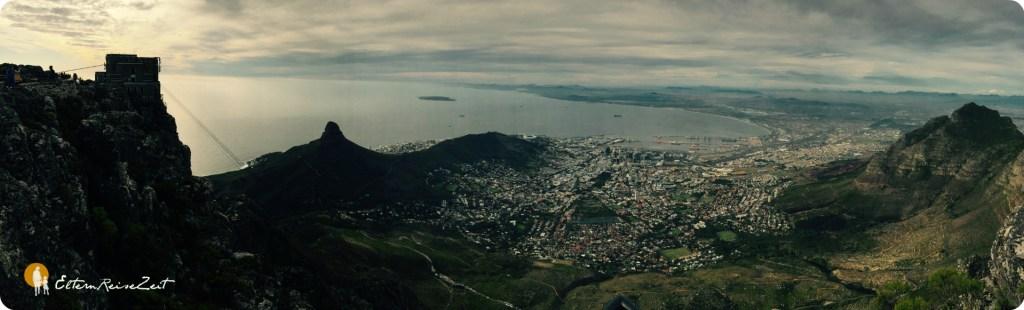 Panorama Tafelberg Kapstadt