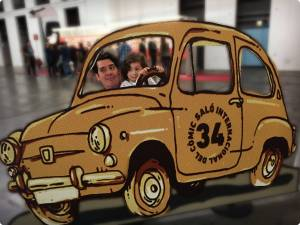 Gallerie-Barcelona-vater-tochter-comic-auto