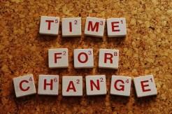 Zeit für Veränderung