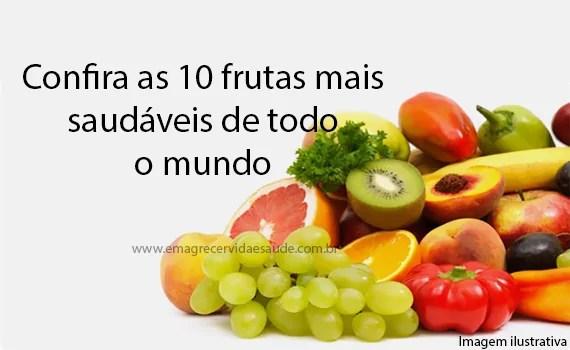 10 frutas mais saudaveis