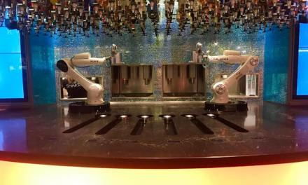 The Tipsy Robot