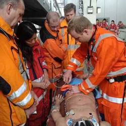 REBOA Training at London HEMS (Attrib. Needed)