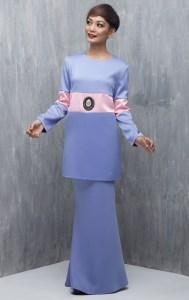 baju raya baju kurung moden emel 2016 raya 2016 colour blocking