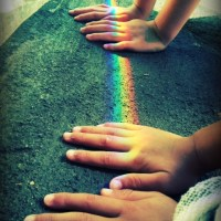 Can you touch the rainbow?
