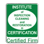 IICRC Certification.