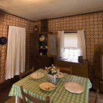 The kitchen in the Elvis Presley birthplace