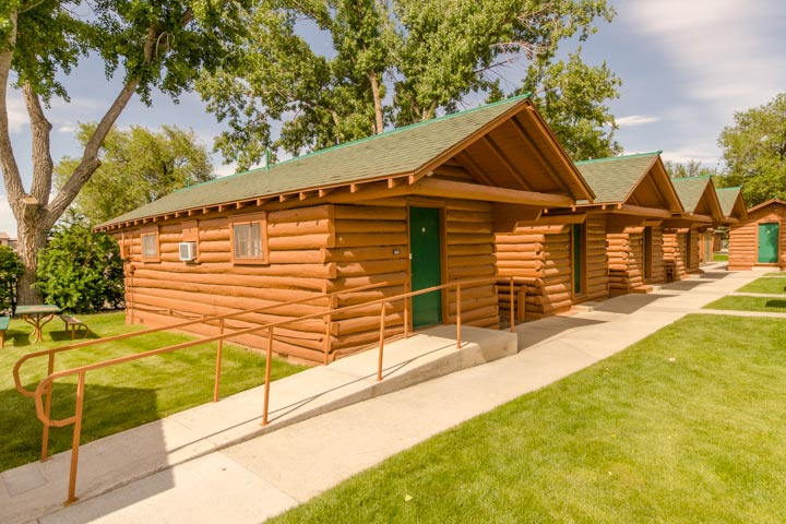 Accessible Western Cabin In Buffalo Bill's Old Haunt