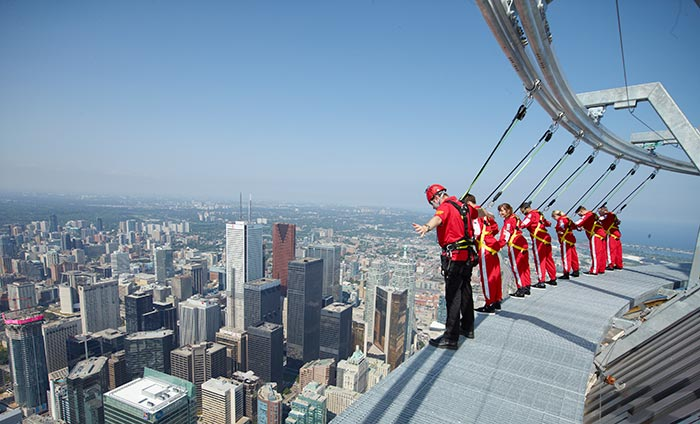 CN Tower Introduces Wheelchair-Accessible EdgeWalk