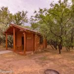 The Antelope cabin at Dead Horse Ranch State Park