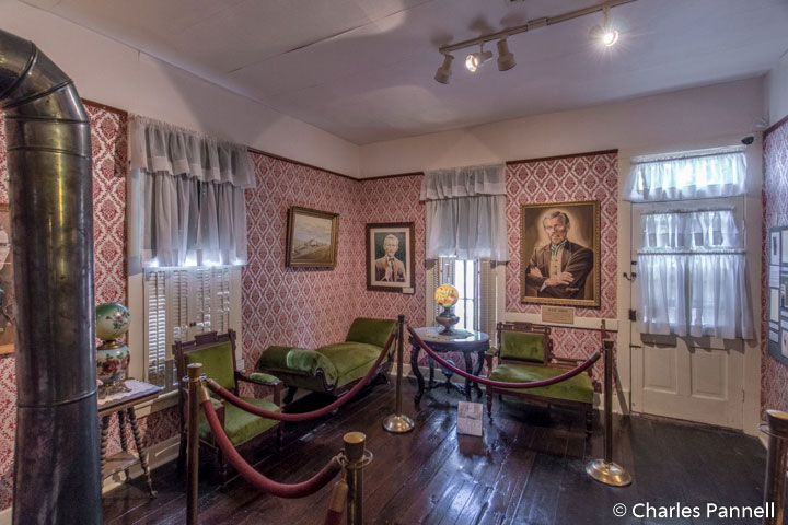 Inside the Jesse James Home