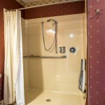 Shower in the bathroom of the Shadowood Burgundy Room