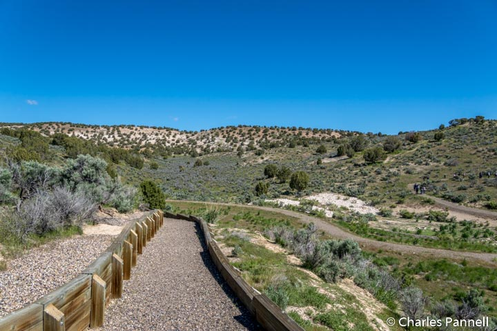 Trail to the Humboldt River Overlook