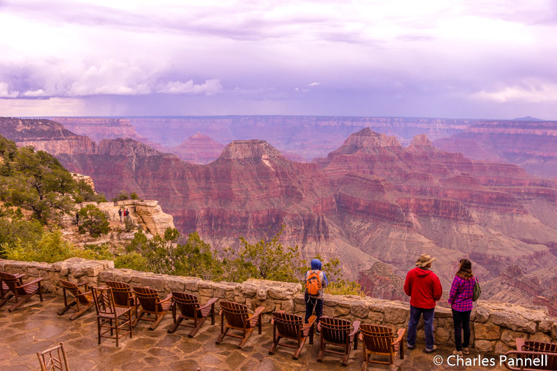 The East Terrace at Grand Canyon Lodge North Rim