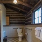 Toilet in Cabin 29