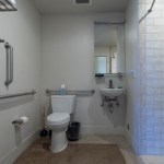 Sink and toilet in room 1111