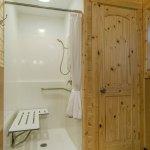 Shower in Cabin K15