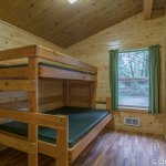 Bunk beds in Cabin K15
