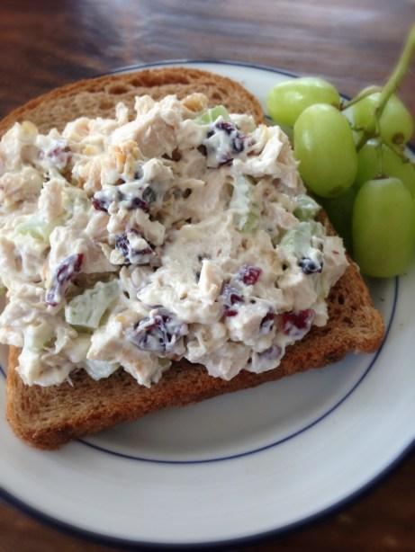 Homemade Waldorf Chicken Salad