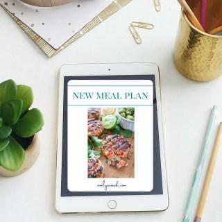 Weekly Meal Plan: June week 23