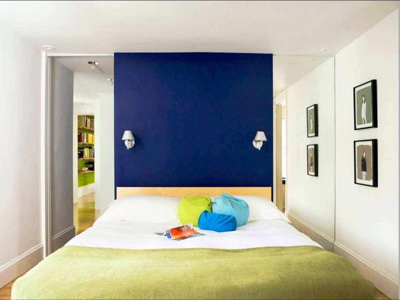 Pool Bedroom Royal Blue Painted Bed Room Bluebedroom Color Ideas Blue Wall Ideas Wall Ideas Bedroom Royal Blue Painted Bed bedroom Bedroom Paint Ideas Blue
