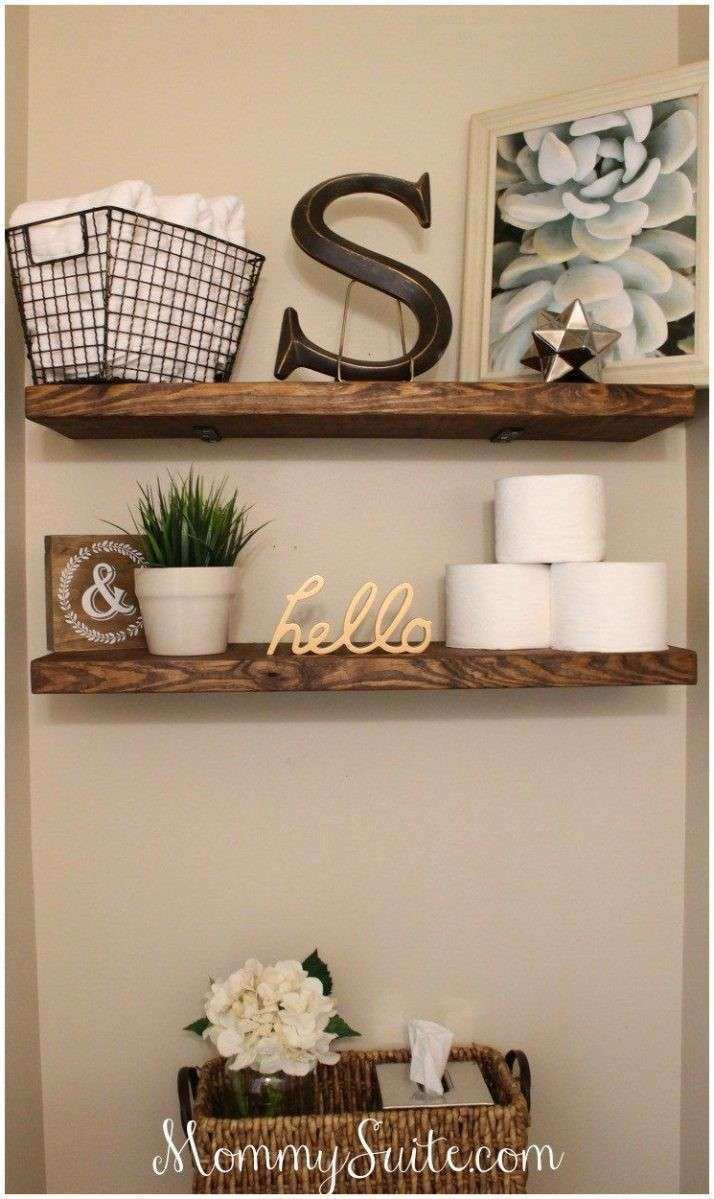 Large Of Bathroom Mounted Shelves