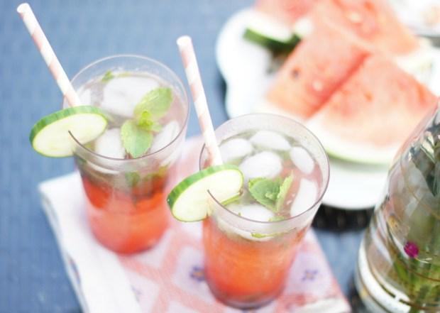Watermelon Cucumber Mojito