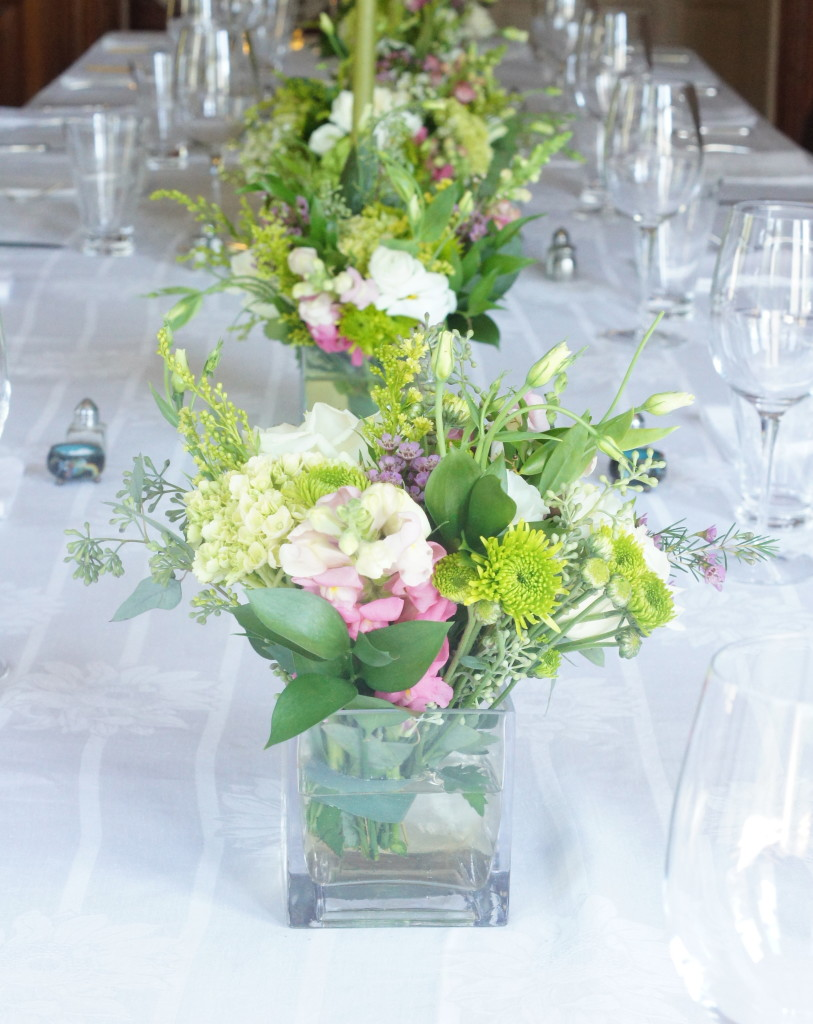 Long Table Wedding Centrepieces